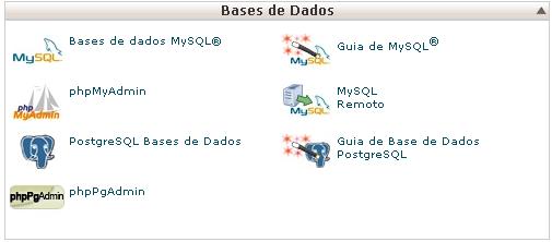cPanel X Base de Dados
